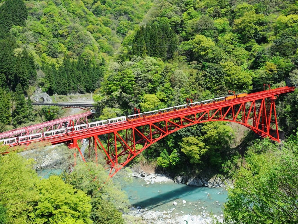 the kurobe gorge