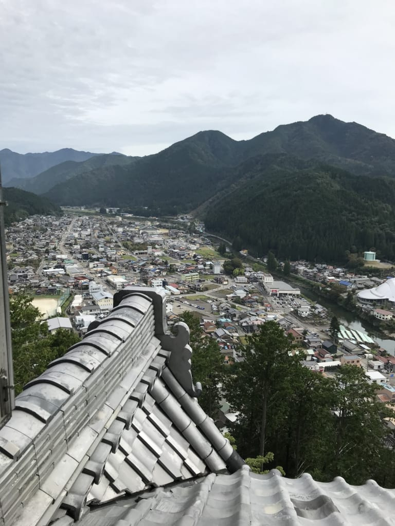 top of hachiman castle