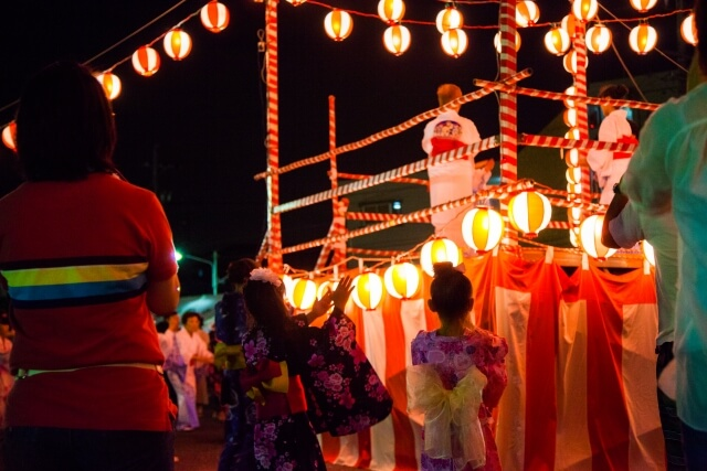 Obon : Summer festival time in Japan