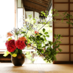 Ikebana : Flower arrangement in Japan